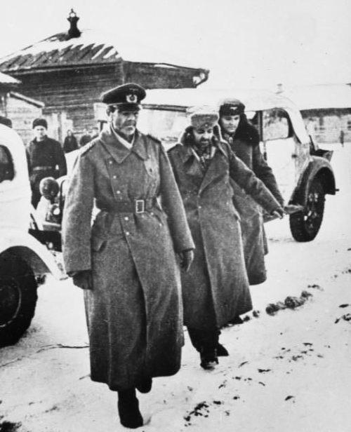 Пленение генерал-фельдмаршала Паулюса.
