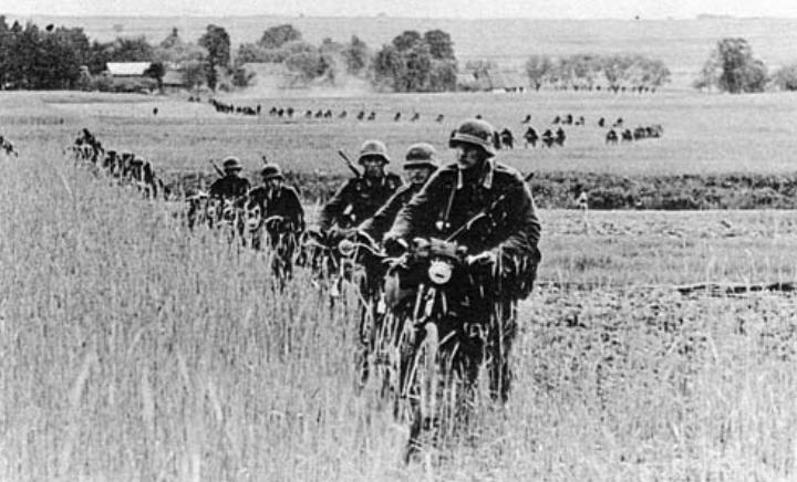 Кавалерийская бригада особого назначения 9-й армии. Велосипедный эскадрон.