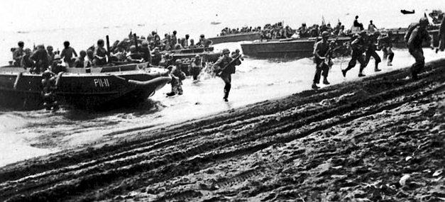 Высадка десанта на Гуадалканал 7 августа 1942 г.