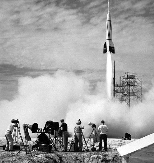 Запуск ракеты «Фау-2».