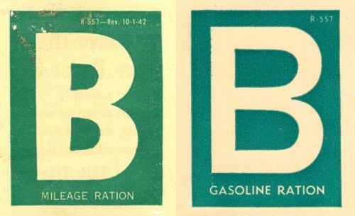 Наклейка категории «В» на бензин и газолин.