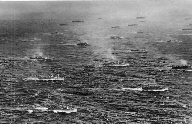 Конвой PQ-17 в море.