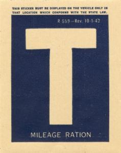 Наклейка категории «Т».