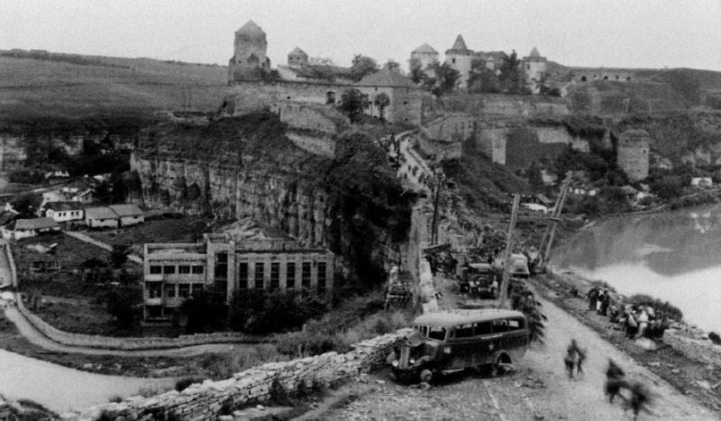 Вид на замок. 1941 г.
