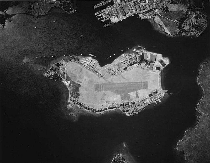 Военно-морской аэродром Форд-Айленд. 7 января 1941 г.