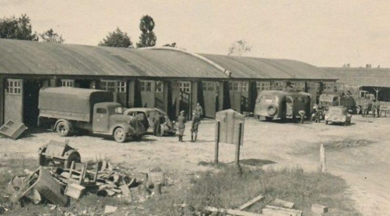 Немецкие автомастерские. 1941 г.
