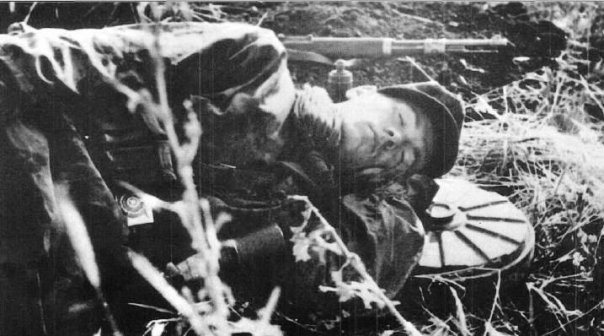 Расслабляющий сон на противотанковой мине.