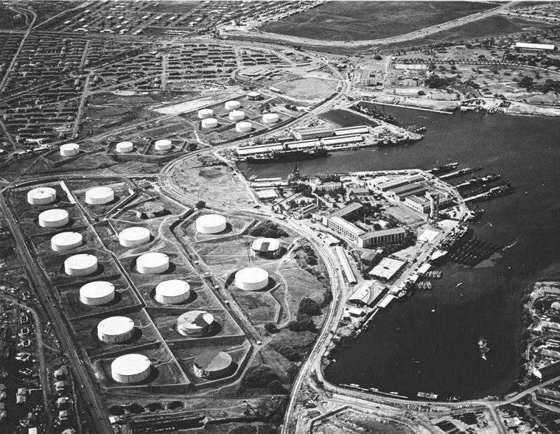 Нефтебаза. 13 октября 1941 г.