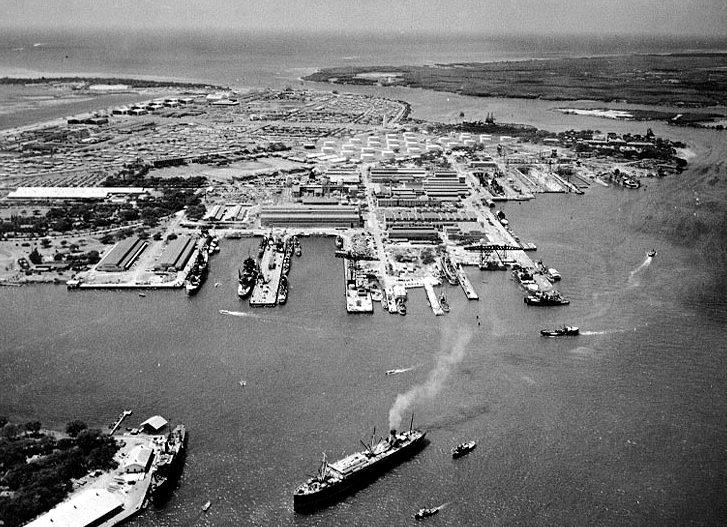 Военно-морская верфь. 13 октября 1941 г.