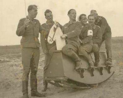 «Тренировки» кавалеристов.