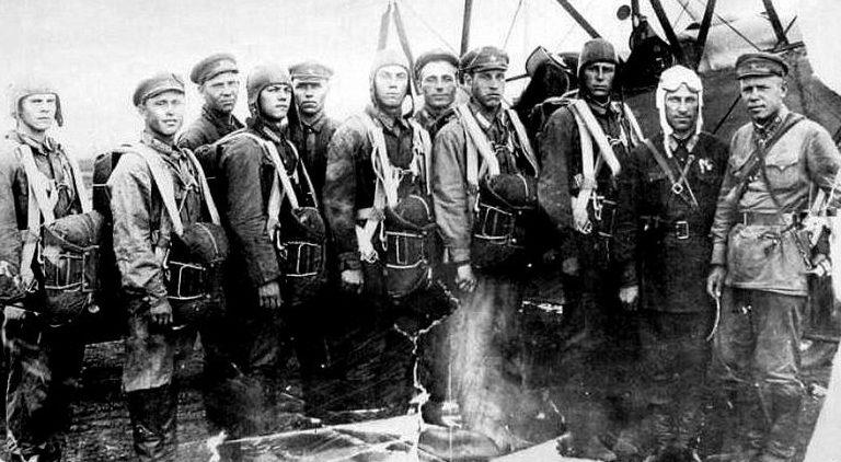 Курсанты аэроклуба. 1940 г.