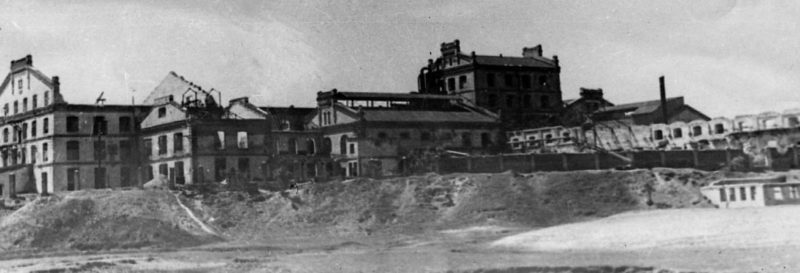 Рафинадный завод 1943 г.