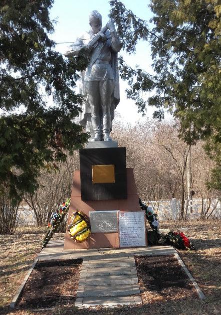 п. Набокино Старооскольского р-на. Памятник 17-ти героям-бронебойщикам, защищавшим разъезд Набокино.