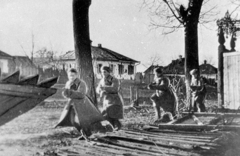 Бои за город. Январь 1943 г.