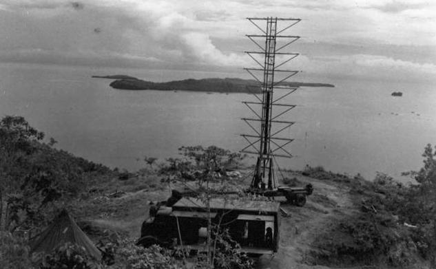 РЛС на острове Оаху.