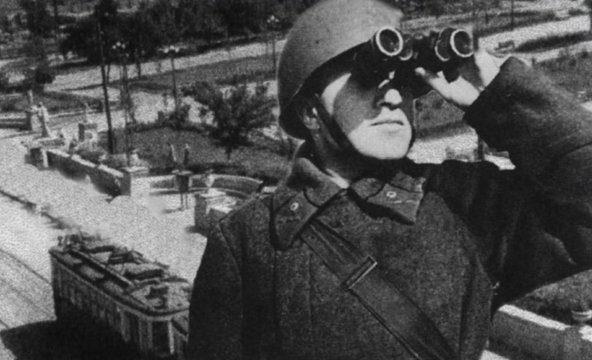 Красная Площадь. Апрель 1942 г.