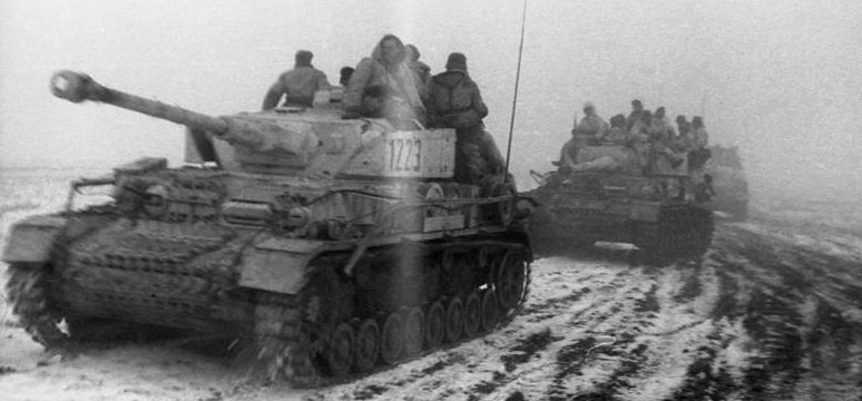 Немецкие тигры в «Черкасском котле». Январь 1944 г.