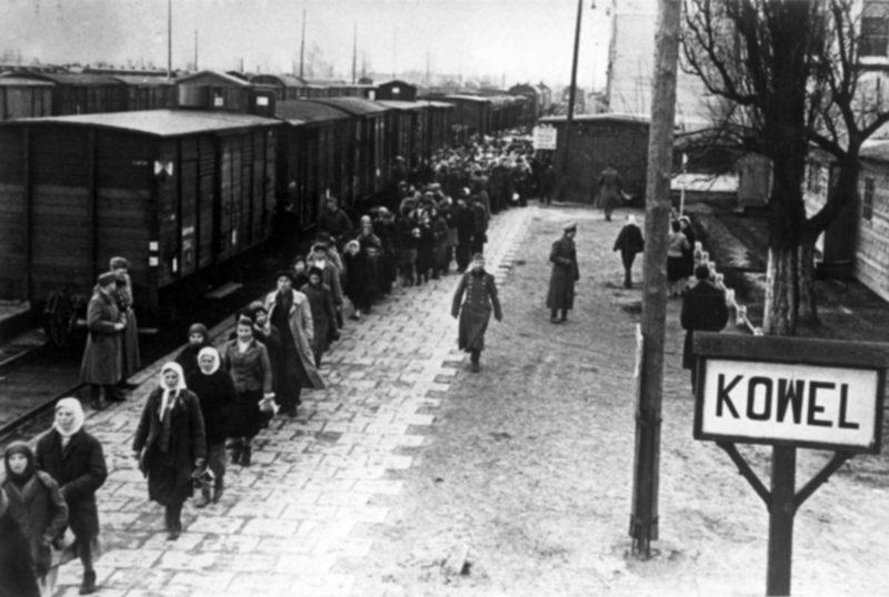 Ковель в оккупации. 1943 г.