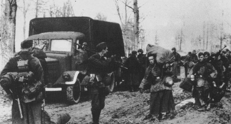 Выход немецких войск из «Черкасского котла». Февраль 1944 г.