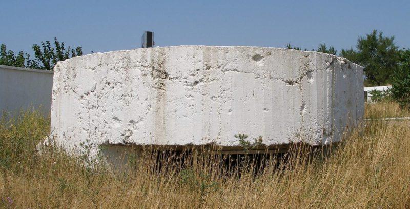 Артиллерийский ДОТ №19 у редута «Виктория» для 45-мм орудия 21-К.