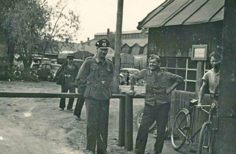 Авторемонтные мастерские. 1942 г.
