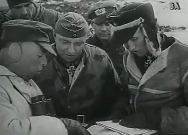Немецкие войска в обороне. Март 1944 г.