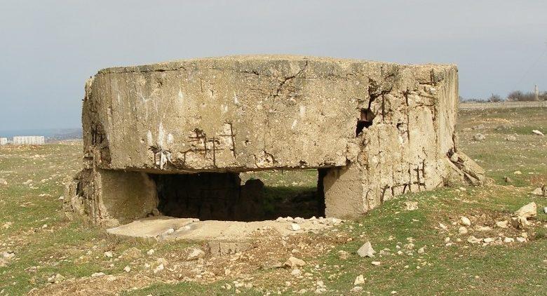Артиллерийский ДОТ №24 на холме Каткарта для 45-мм орудия 21-К.