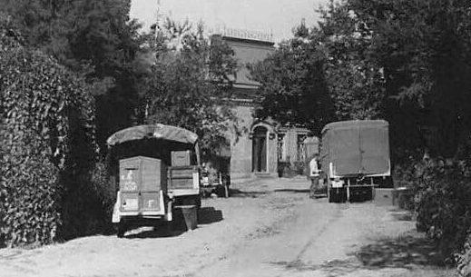 Немецкий госпиталь 1943 г.
