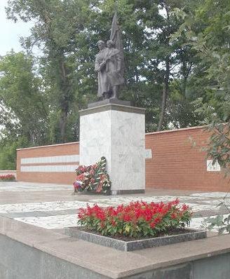 г. Старый Оскол. Воинский мемориал на Ахтырском кладбище.
