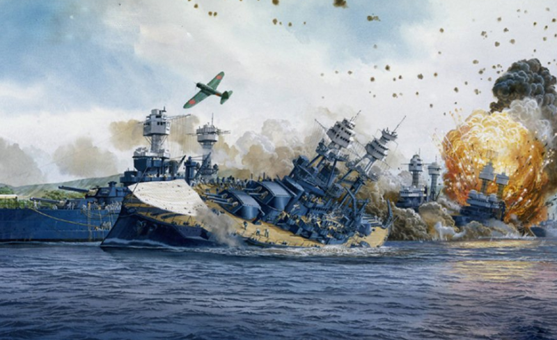 Атака на Перл-Харбор.