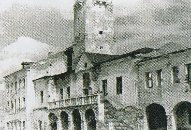 Руины в городе. 1944 г.