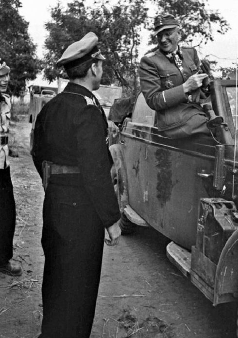 Группенфюр СС Отто Гилле. Июль 1944 г.
