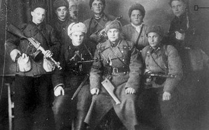 Партизаны Херсонщины после освобождения города. Март 1944 г.
