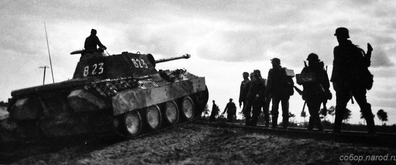 Танковая дивизия Викинг под Ковелем. Июль 1944 г.