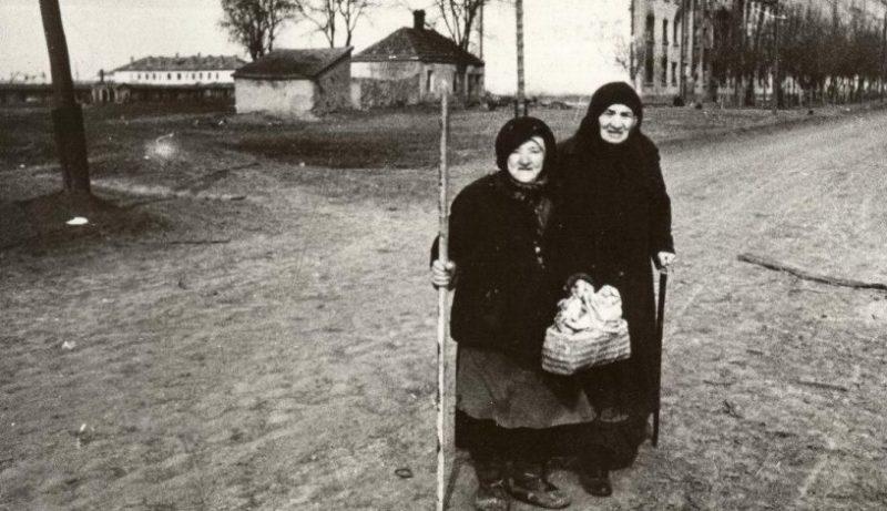 Возвращение беженцев. 1944 г.
