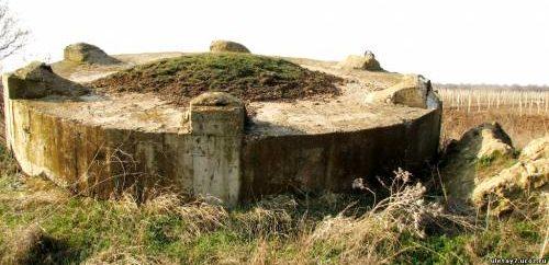 Артиллерийский ДОТ №52 у деревни Суворово для 45-мм орудия 21-К.