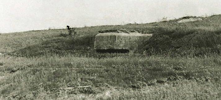 Артиллерийский ДОТ №53 у Симферопольского шоссе для 45-мм орудия 21-К.