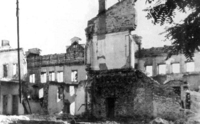 Дом Скарлата. Март 1944 г.