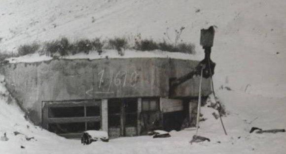 ДОТ №56 в немецком пользовании в 1943 г.