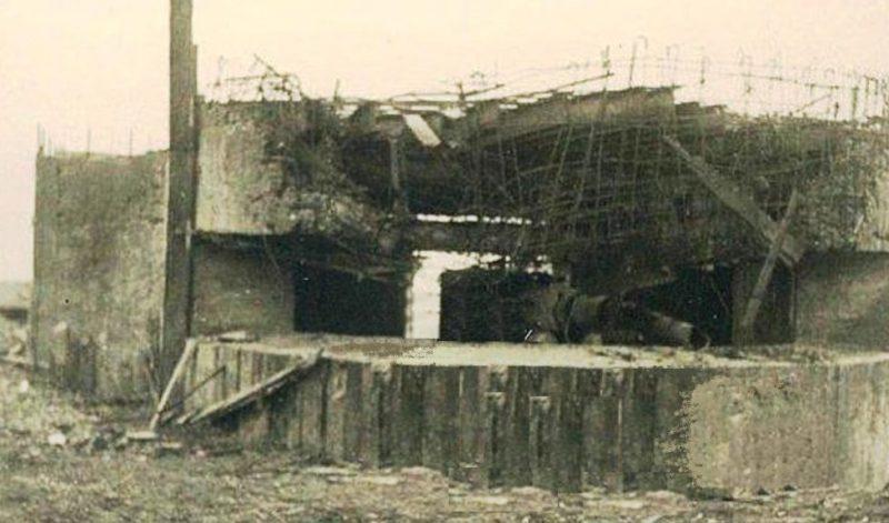 ДОТ №76 в годы войны.