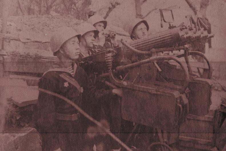 Зенитчики на 23-й батареи. 1942 г.