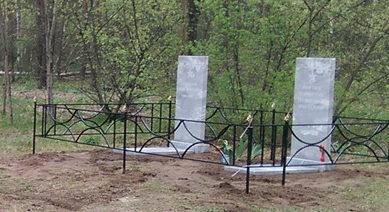 с. Новая Таволжанка Шебекинского городского округа. Памятник по улице Лесной, установленный на братской могиле советских воинов, погибших в годы войны.