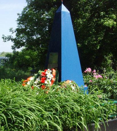 г. Шебекино. Братская могила советских воинов, погибших в годы войны.