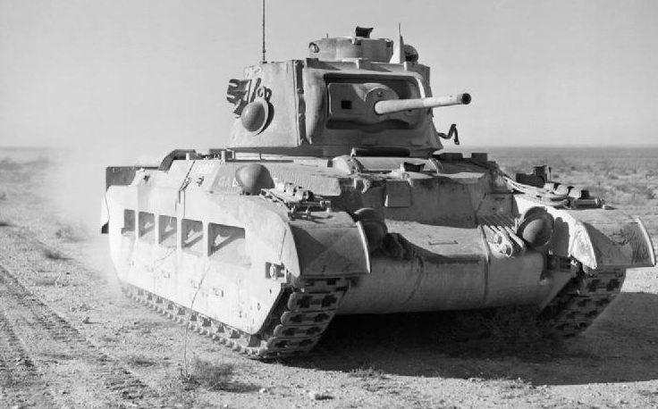 Танки «Матильда» во время операции «Компас» в Ливии.