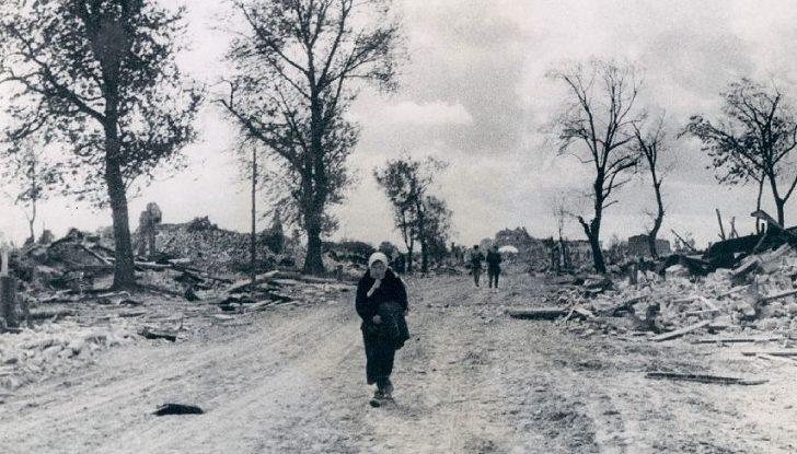 Жиздра в годы войны.