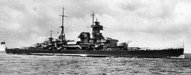Тяжёлый крейсер «Hipper».