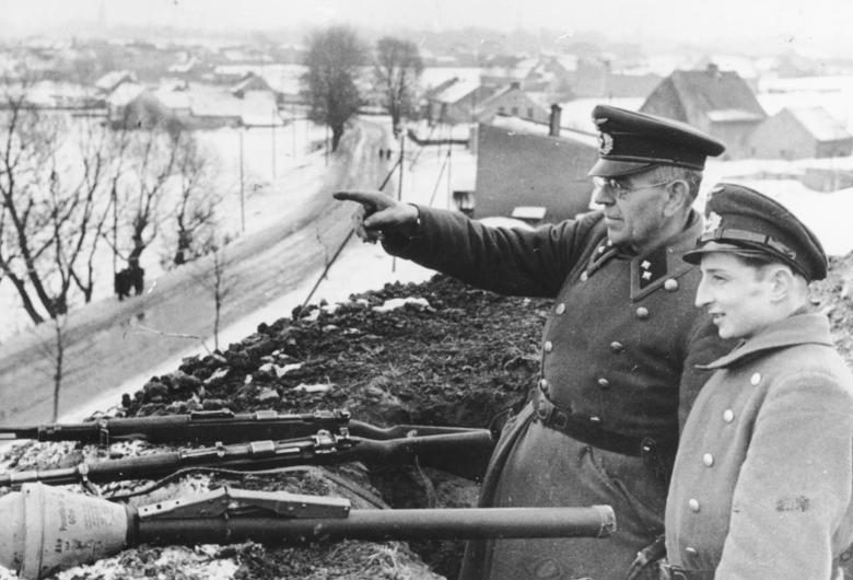 Солдаты Фолькштурма в Ратиборе.