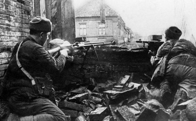 Красноармейцы в битве за Кавказ.