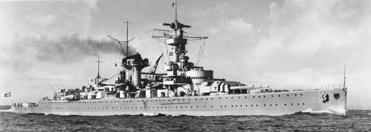 Тяжёлый крейсер «Lützow».