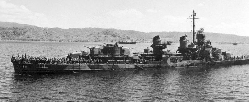 Эсминец «Ла-Валетта».